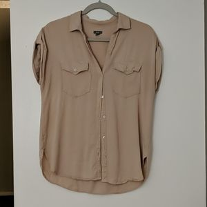 Aerie oversized button up